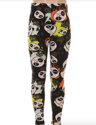 Panda-monium Kids Leggings