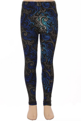 Blue Metaphysical Kids Leggings