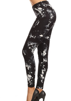 Midnight Tie Dye Leggings