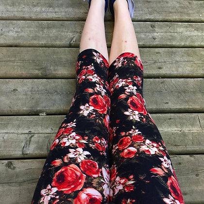 Radiant Rose Capris
