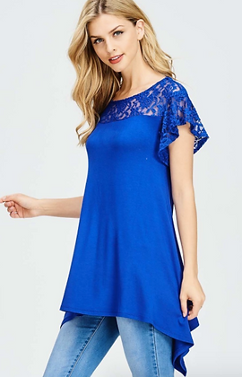 Royal Blue Melodie Tunic