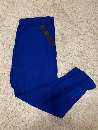 Royal Blue Queen Capris