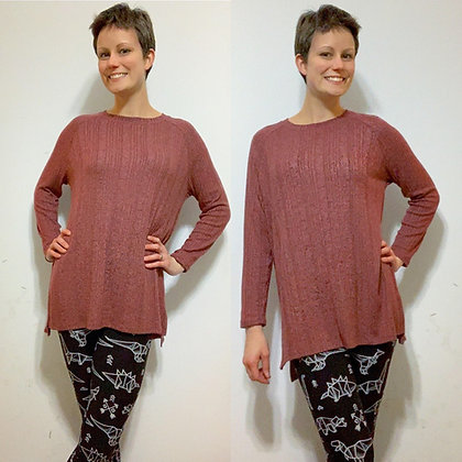 Colleen Plus Sweater - Mauve