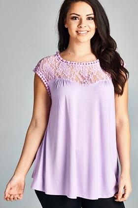 Lilac Lace Tank