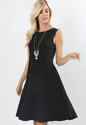 Black Pocket Dress