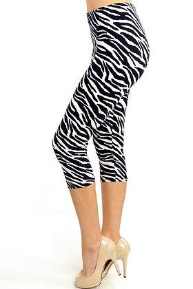 Zebra Capris