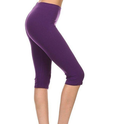 Purple Capris