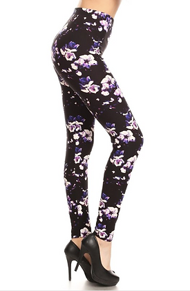Sweet Pea Plus Leggings