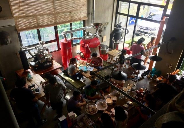 Một ngày tại Coffee Culture Roastery và Sensory Cafe. Hình ảnh: Thomas Sproten