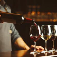 Fine wine selection