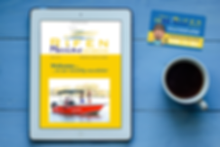 Rifen Marine EDM campaign designed by Cooper McKenzie Marketing