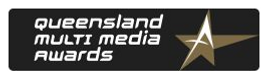 Queensland multi media awards logo