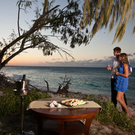 Wilson Island - dining by the sea