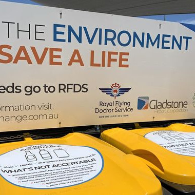 Containers making a change at Gladstone Airport