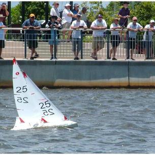 Sailing off the bank at the 2005 World Title location of Kawana Waters