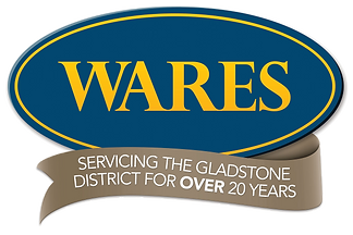 Wares logo. Servicing the Gladstone District for over 20 years.