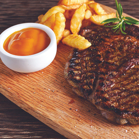 You can't go wrong with a Steak