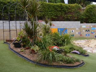 Childcare Safe Garden Edging