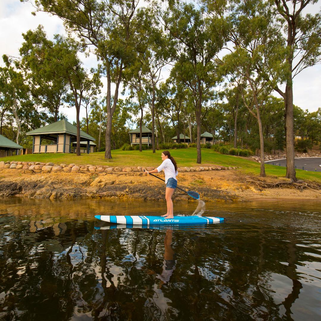 Paddle Boarding at Lake Awoonga