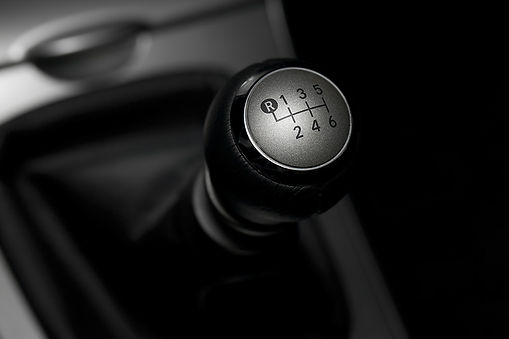 Picture of gear knob for Anderson's Auto City. Cooper McKenzie Marketing are the Social Media Agency.