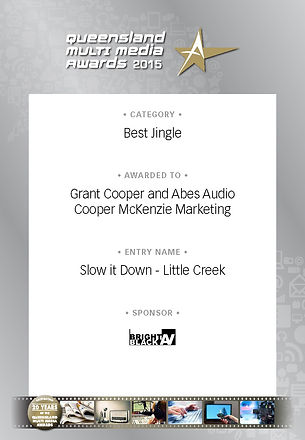 Little Creek - Best Jingle by CMM and Abes Audio