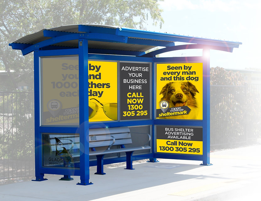 Bus Shelter Advertising with Cooper McKenzie Marketing