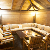 Wilson Island - relax in the longhouse