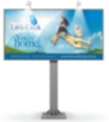 Little Creek Signage by Cooper McKenzie Marketing