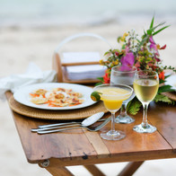 Wilson Island - sunset drinks by the sea
