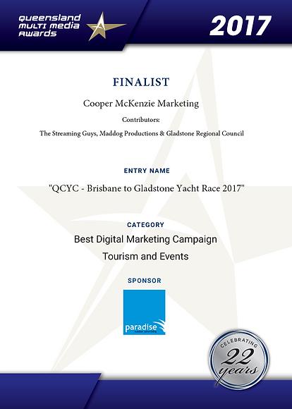 Cooper McKenzie Marketing finalists 2017