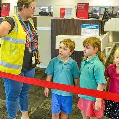 Kindy Kids inspired by special tour