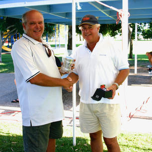 Alan Walker from the Gold Coast Radio Yacht Club sailed constantly and finished in 2nd Overall.
