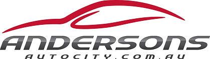 Andersons Auto City logo. Designed by Cooper McKenzie Marketing