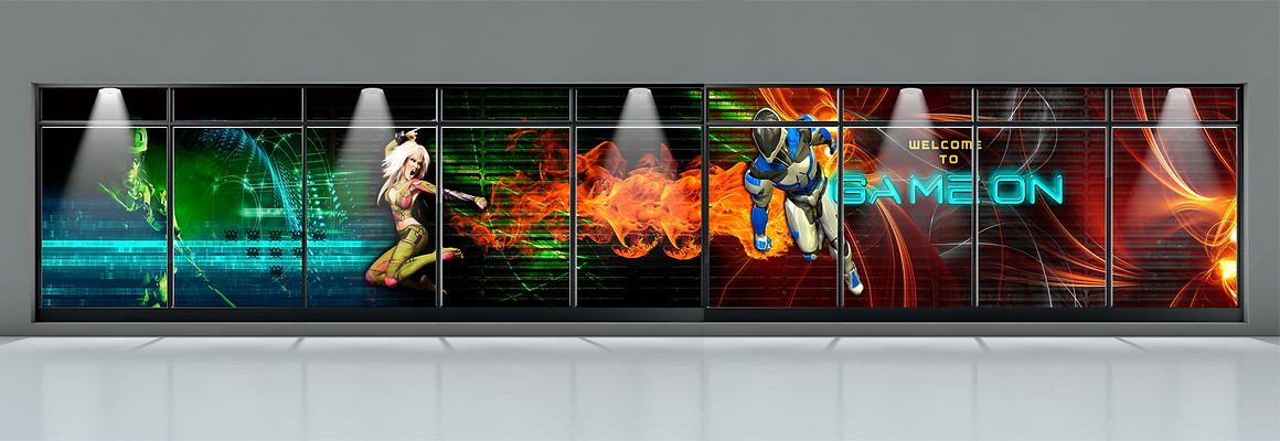 Game On. Gladstone's video arcade brand was created by Cooper McKenzie Marketing