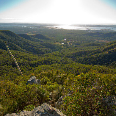 View from Mount Larcom