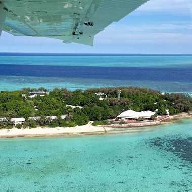front row seats to reef in new sea plane