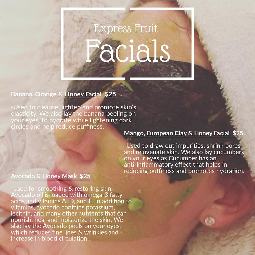 BoojiBEE Organic Facial Services