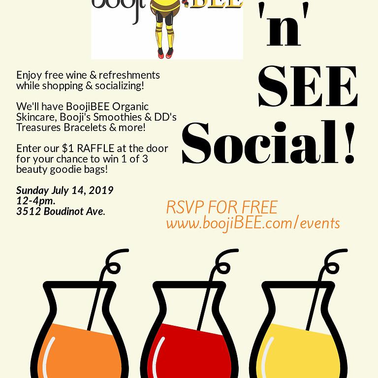 """SIP & SEE"" A BoojiBEE Social!"