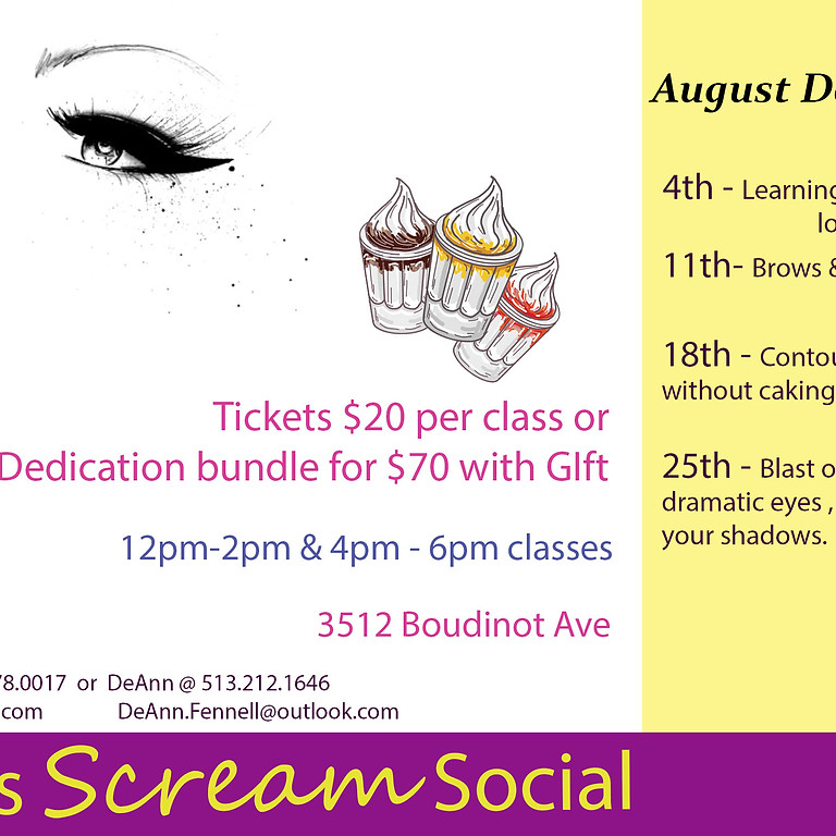 Eye's Scream Social! PT. 2 (12pm-2pm)