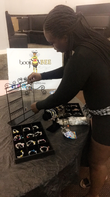 BoojiBEE attends a local pop up shop event in Cincinnati!