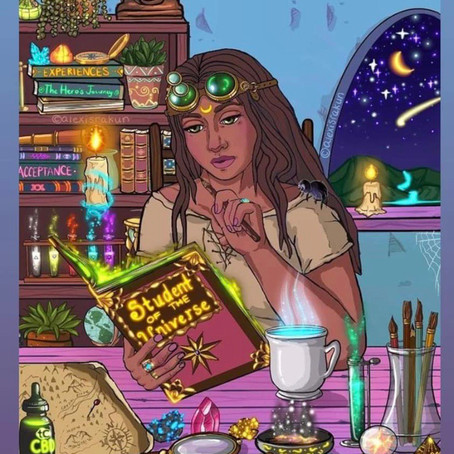 Self Discovery and hiding behind the Occult... Synopsis.
