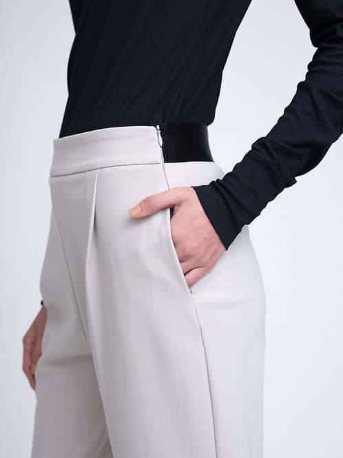High waist trousers made of Neoprene