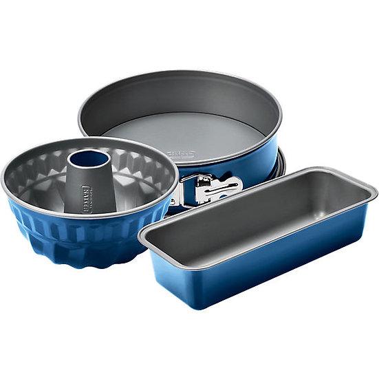 WMF Kaiser Königskuchenform  長形蛋糕烘焙模 30 cm 藍莓果醬色