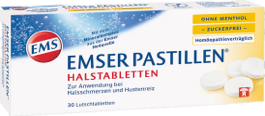 EMSER® 溫泉鹽潤喉片(無糖型)