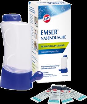 EMSER® 成人洗鼻壺+4包溫泉鹽
