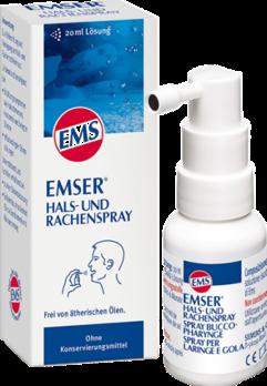 EMSER® 成人溫泉鹽止咳潤喉噴霧