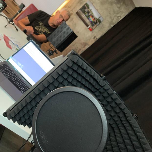 Neues Studio-Eqiupent