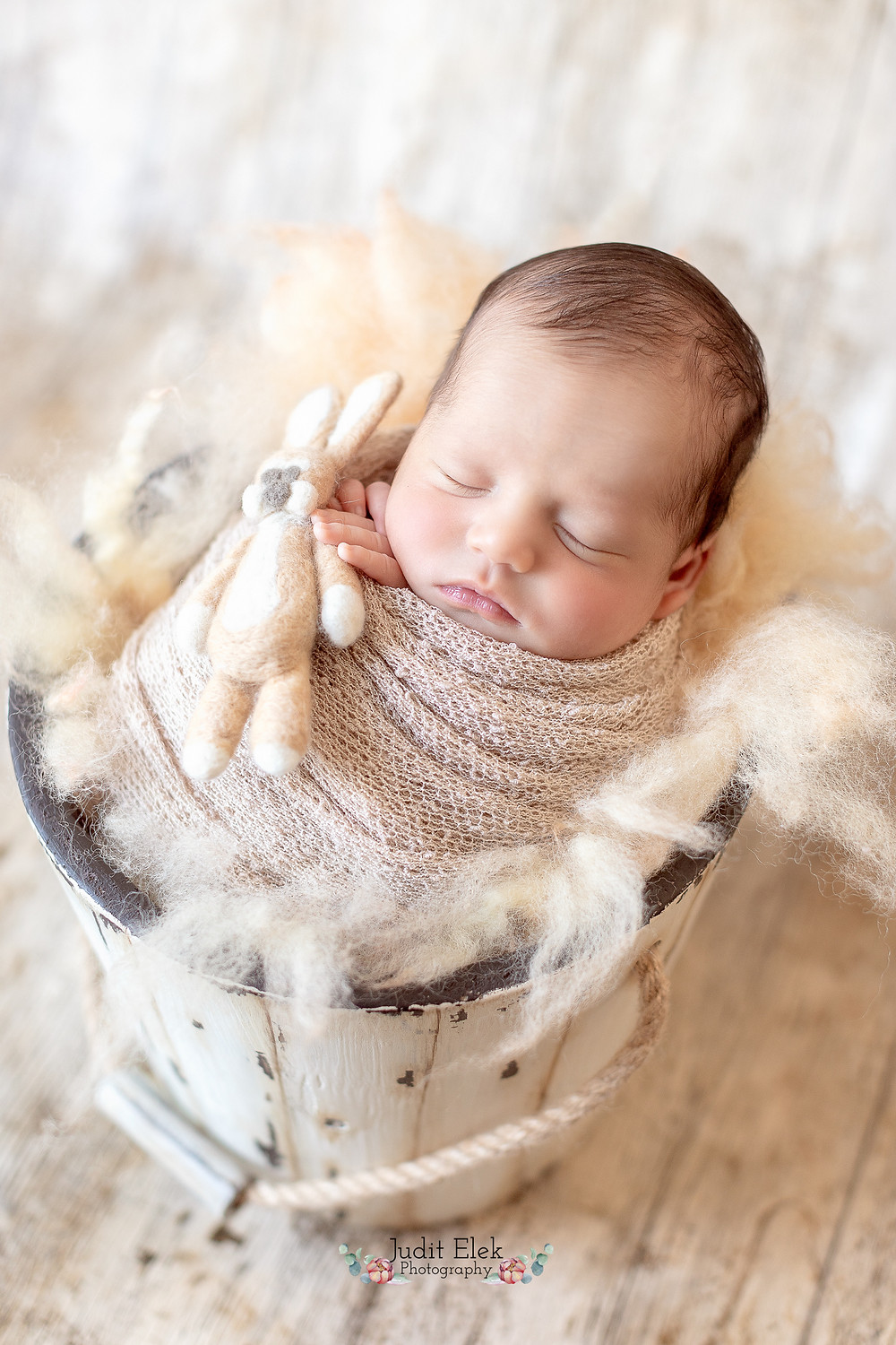 Newborn Baby in Wrap