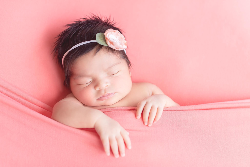 Newborn Baby Girl Photoshoot