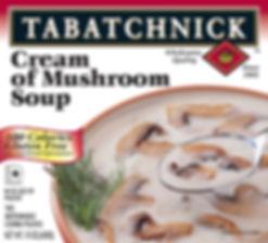 Cream of Mushroom Soup box